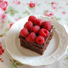 Fudgy Chocolate-Raspberry Bars