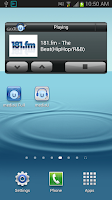 Screenshot of mediaU Radio
