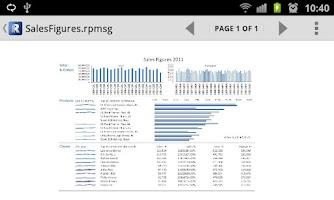 Screenshot of RMS Viewer