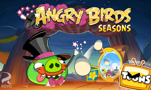 angry-birds-seasons for android screenshot
