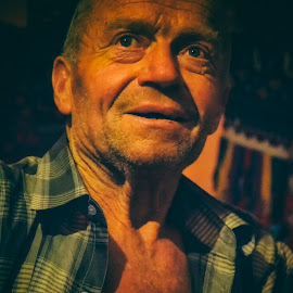 Old man by Marius Peptan - People Portraits of Men