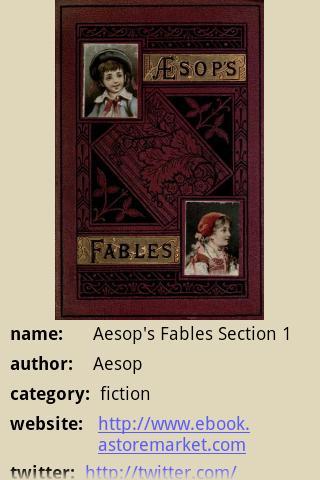 【免費書籍App】Aesop's Fables Section 1-APP點子