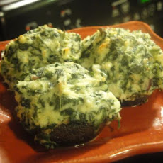 Surf and Turf Stuffed Mushrooms