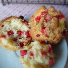 Cranberry, Orange and Pistachio Muffins