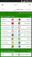 Screenshot of GoalAlert German Bundesliga
