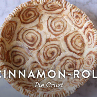 Cinnamon-Roll Pie Crust