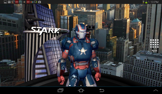 App Iron Man 3 Live Wallpaper APK for Kindle