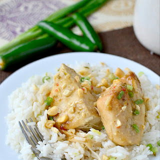 Crock Pot Thai Chicken