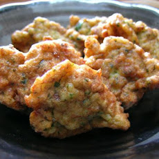 Prawn and Ginger Fritters