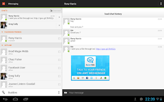Screenshot of Iwantim Messenger
