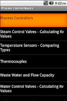 Screenshot of Process Control Basics