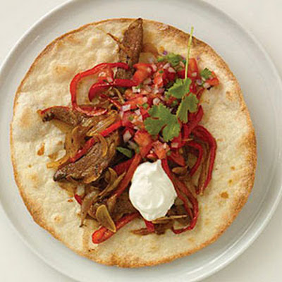 Fajitas with Roast Beef