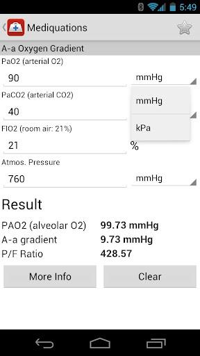 【免費醫療App】Mediquation Medical Calculator-APP點子
