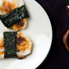 Toasted Mochi in Seaweed (Norimaki Mochi) Recipe
