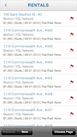 Screenshot of YouGotListings Mobile