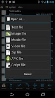 Screenshot of Root Browser (File Manager)