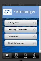 Screenshot of Fishmonger - Info for Chefs