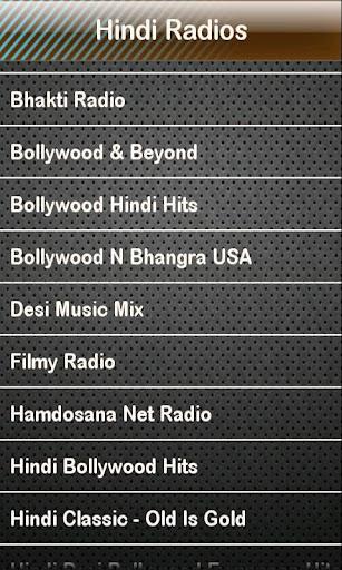 Hindi Radio Hindi Radios