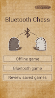 Screenshot of Bluetooth chess
