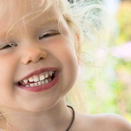 Happy Girl by Janet Lyle - Babies & Children Toddlers ( child, children, toddler )