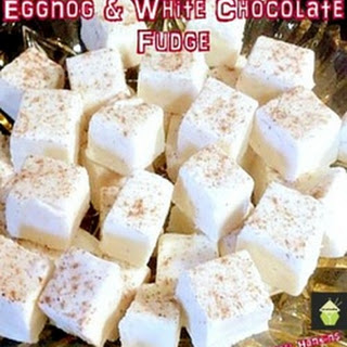 White Chocolate Eggnog Fudge Recipes
