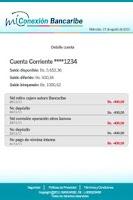 Screenshot of Mi Conexión Bancaribe