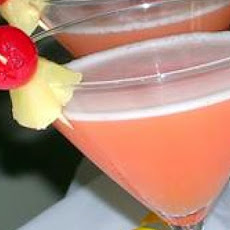 Pineapple Upside-down Cake Martinis