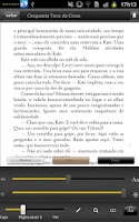 Screenshot of Saraiva Reader