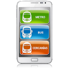key-Madrid Metro Bus Cercanias icon