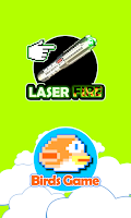 Screenshot of Laser Pointer Simulator 2