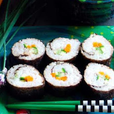 Vegetarian California Rolls (Sushi)