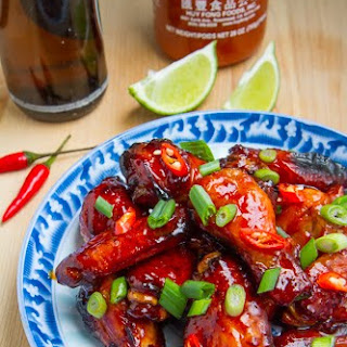 Vietnamese Style Caramel Chicken Wings