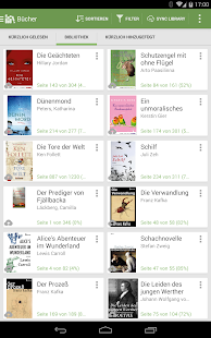 Aldiko Book Reader – Miniaturansicht des Screenshots