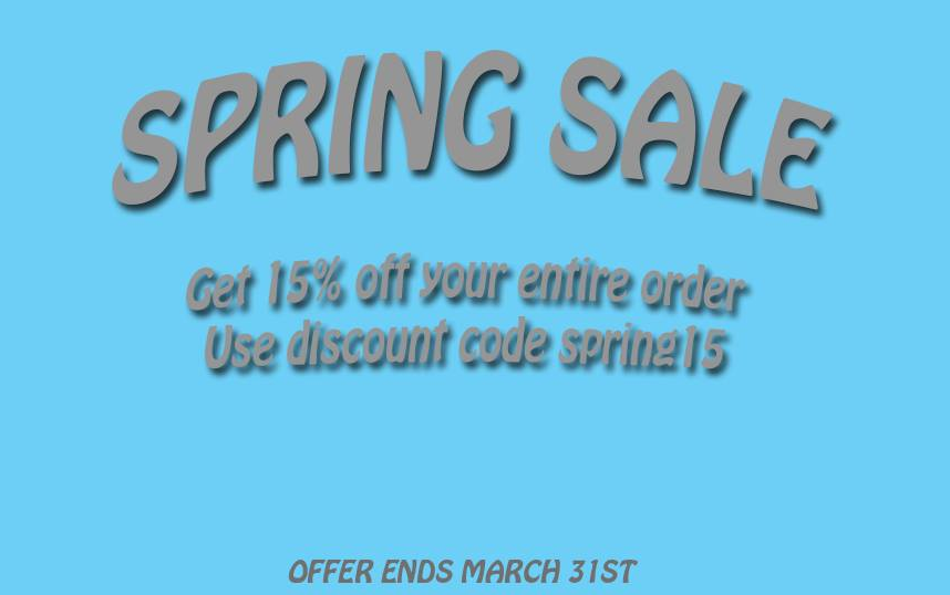 Spring Sale 2015 Foksi
