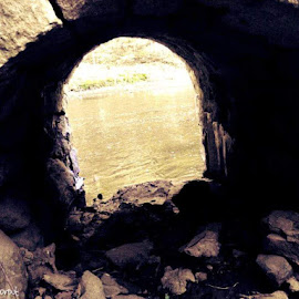 Iron Ore  by Tricia Skorput - Buildings & Architecture Decaying & Abandoned ( river )