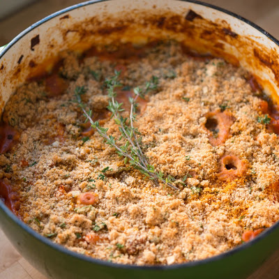 Sweet Potato Cassoulet