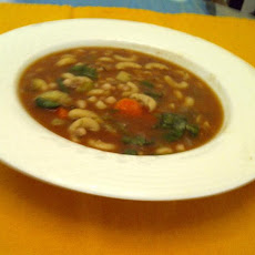 Hearty Vegan Navy Bean Soup