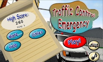 Screenshot of Traffic Control Emergency