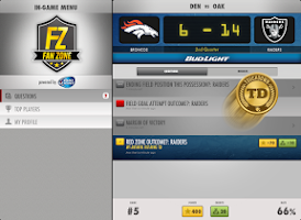 Screenshot of Fan Zone