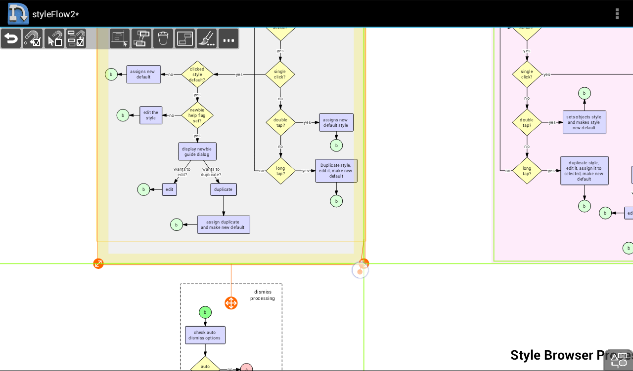 NodeScape Pro - Diagram Tool Screenshot 3