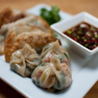 Perfect Fried or Steamed Veggie Dumplings
