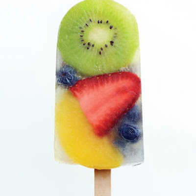 Fruit Salad Ice Pops