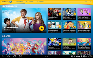 Screenshot of Shaw Go YTV