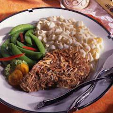 Onion-crusted Pork Chops