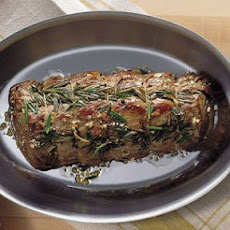 Pan-Roasted Beef Tenderloin with Rosemary and Garlic
