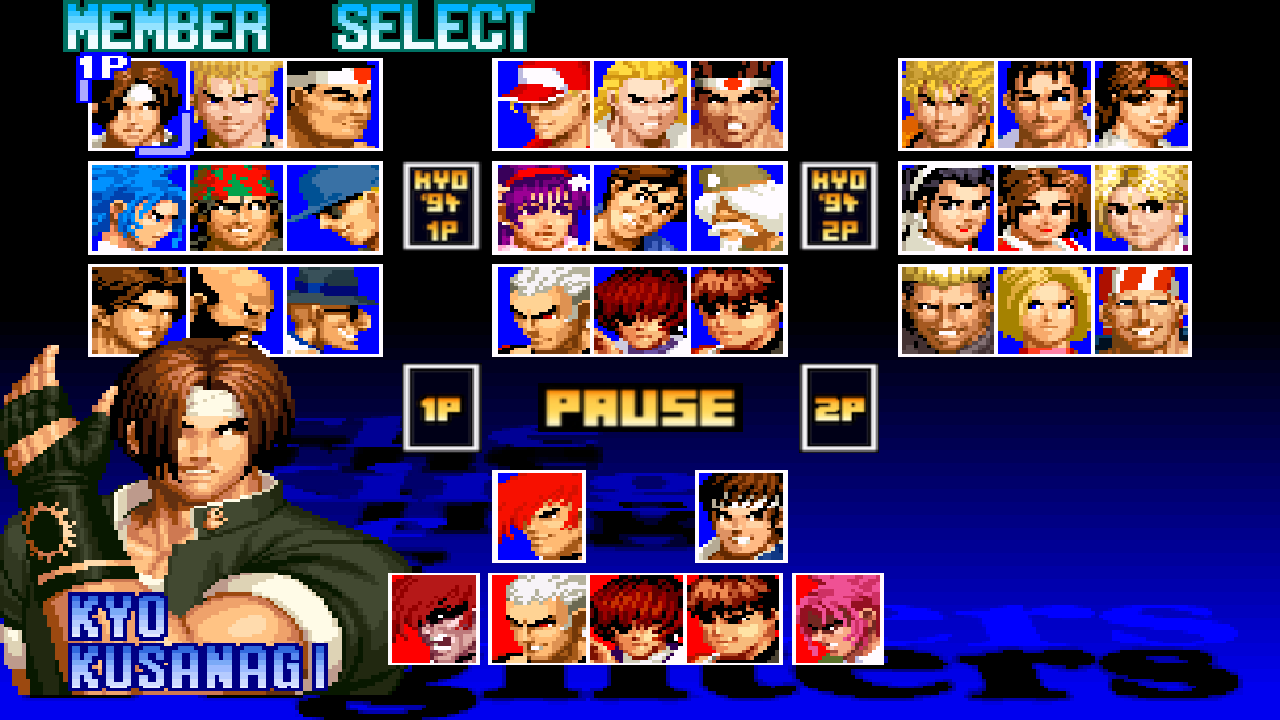 THE KING OF FIGHTERS '97 Screenshot 0