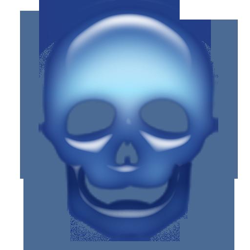 青スカルライブ壁紙 個人化 App LOGO-APP試玩