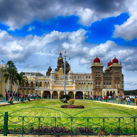 Mysore palace by Nayan Bhagowaty - Buildings & Architecture Architectural Detail