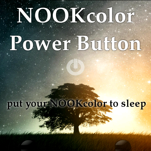 NOOK color power button (LITE) LOGO-APP點子
