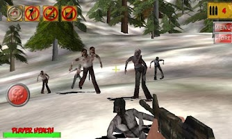 Screenshot of 3D Hunting: Zombies